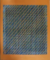 Blue Orange 2006, 237X167cm, acrylic on canvas