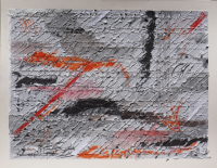 Wendy Kelly Letter of Introduction 3 2013. Mixed media on paper. Panel size 30 x 41 cm